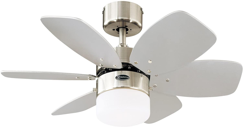 plafondventilator met lamp Flora Royale 788