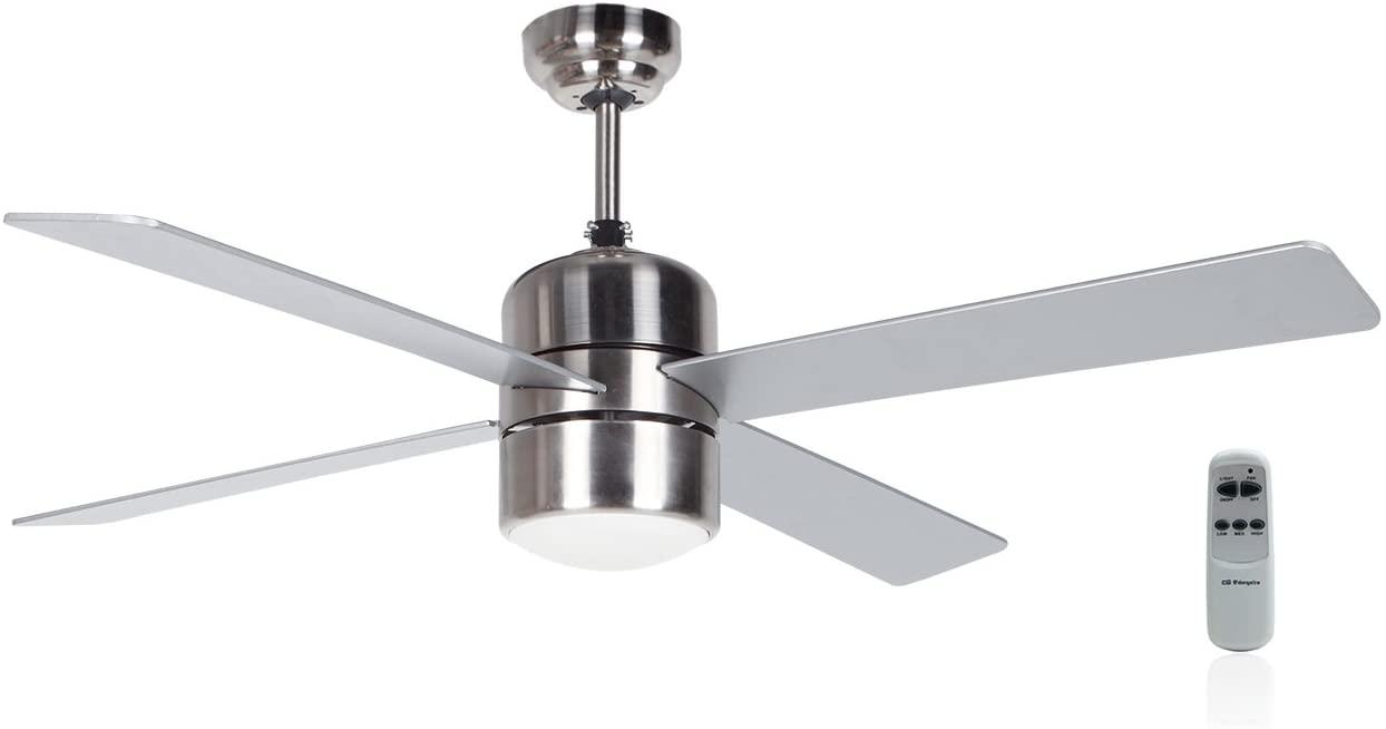 Orbegozo Plafondventilator met lamp Vourdries industrieel 72415