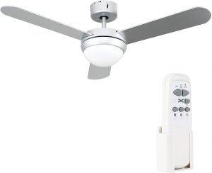 minisun Plafondventilator met afstandsbediening