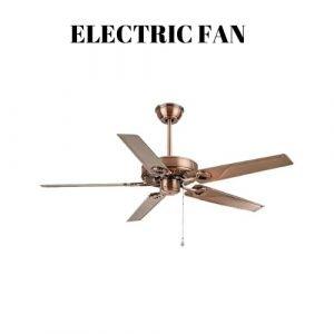 electric fan plafondventilator